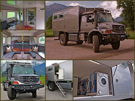 The world s best overland expedition vehicles mercedes for Mercedes benz zetros 6x6 expedition vehicle