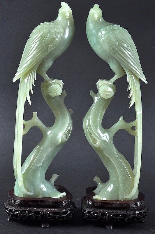 Asian carving jade