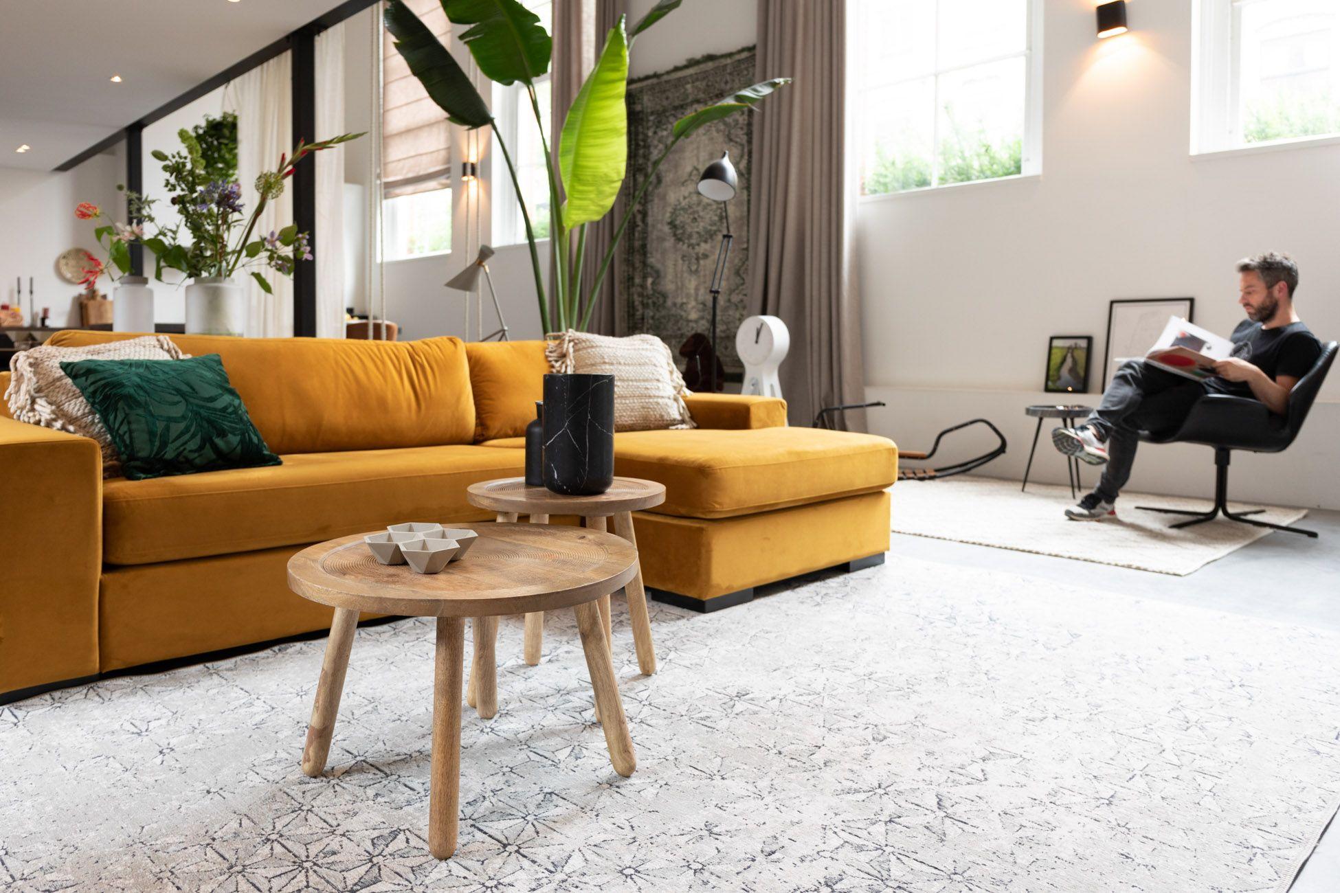 Fiep Sofa Zuiver Wood Furniture Store Furniture Comfortable Sofa