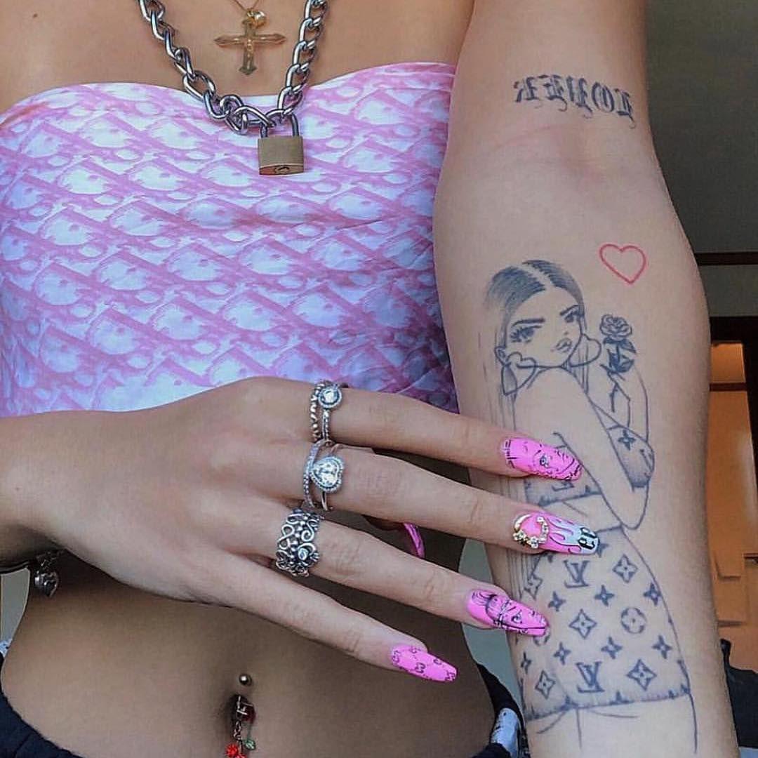 Inspiration For The Girlssourc Gang Tattoos Pretty Tattoos Tattoos