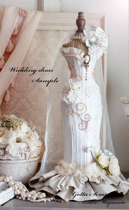 Gotta Scrap: A HAPPY NEW YEAR2014! Torso kit sales decision ♪ & ♪ wedding dress
