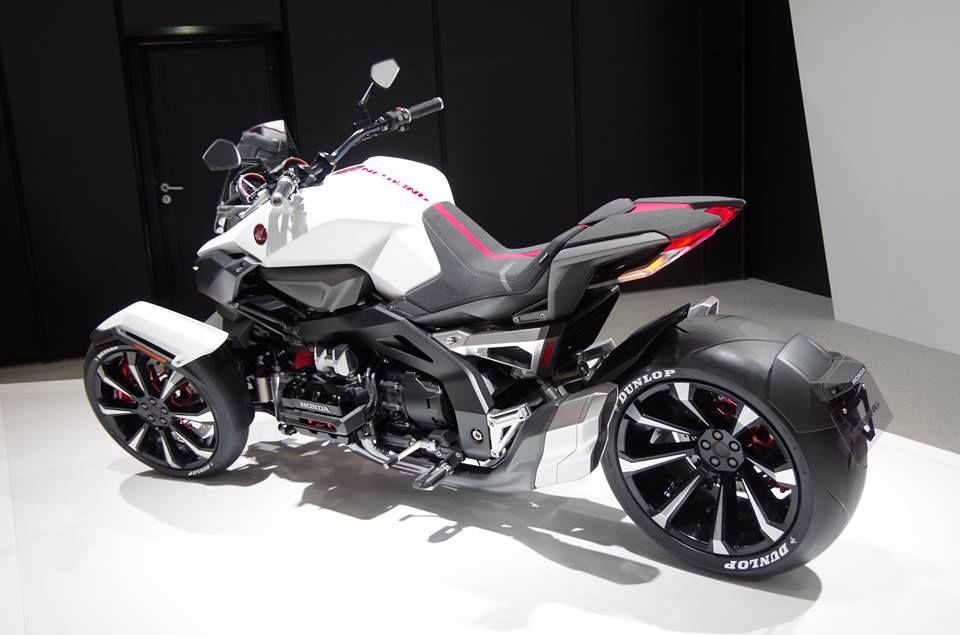 Honda Neowing Concept Tricikl Motocikl Moti