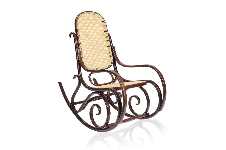 Schaukelstuhl Rocking Chair By Gebruder Thonet Vienna For Gebruder Thonet  Vienna GmbH