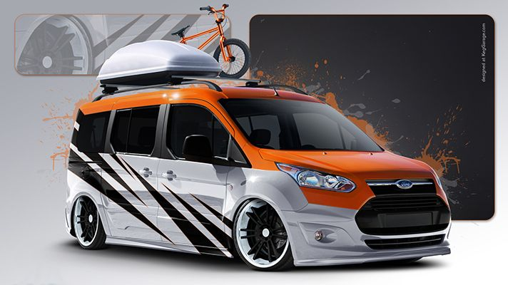 Ford Transit Tourneo Connect 2014 Customised Www Truefleet Co Uk