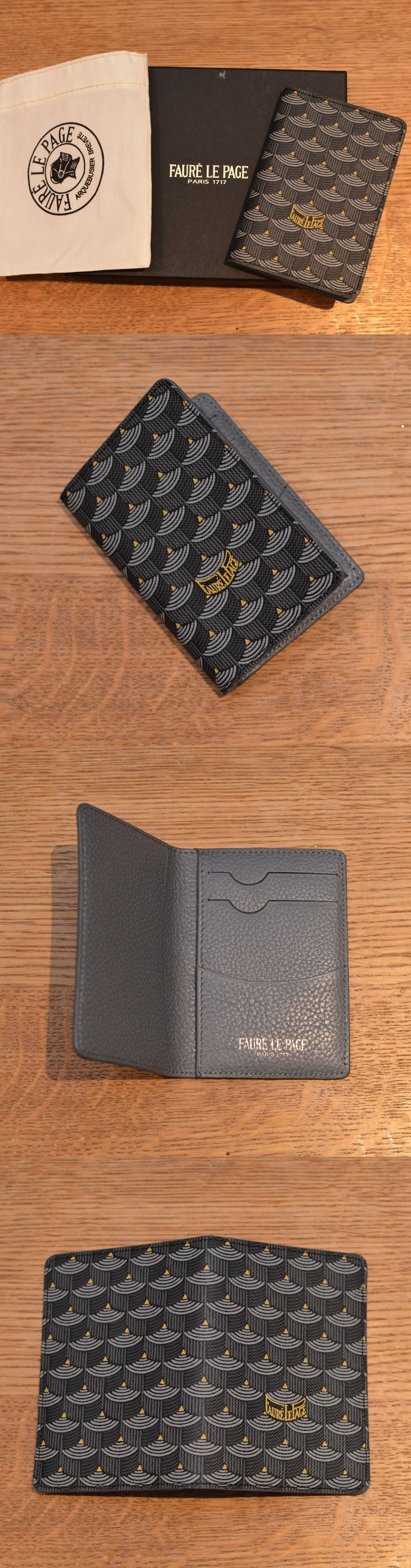 aaa7035676d Business and Credit Card Cases 105860: New Faure Le Page Steel Grey Mini  Bifold Wallet Poche Monogram France Goyard -> BUY IT NOW ONLY: $449.95 on  eBay!