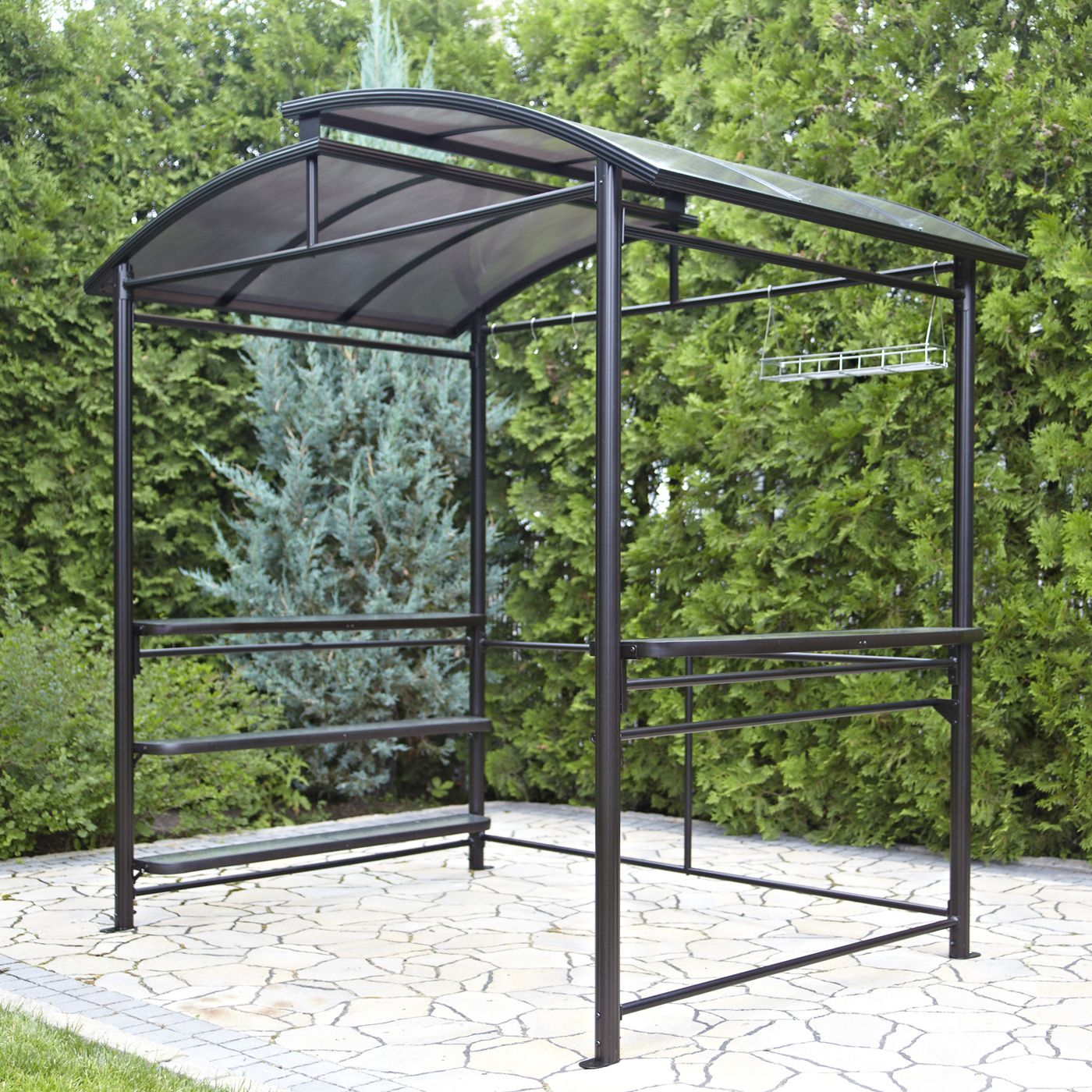 how to make a metal frame gazebos with netting