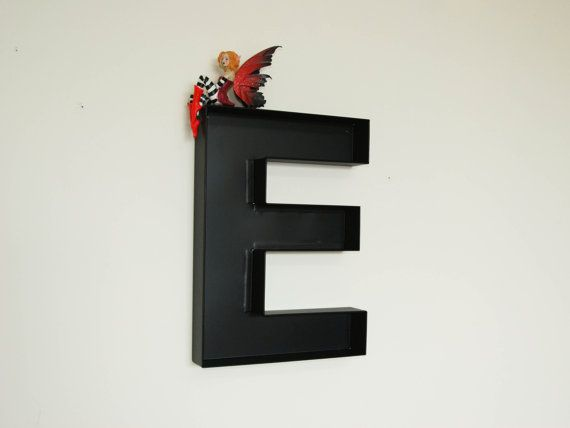 Wall Hanging Letters  E Sign Letter  Wall Decor Letters  E