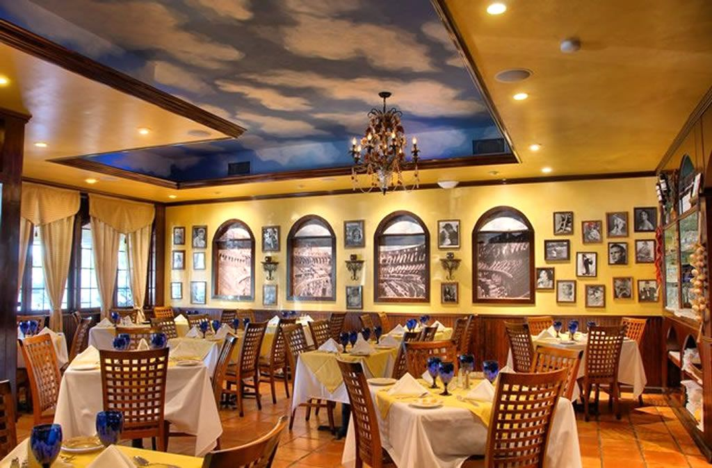 italian restaurant interior design ideas Google Search