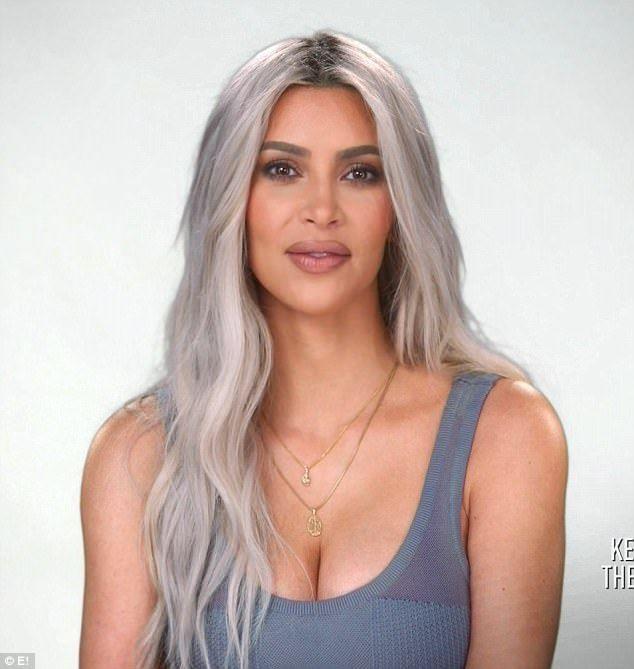 Kuwtk Khloe Accuses Kim Of Being Disloyal And Dipwad During Feud Kim Kardashian Hair Kim Blonde Platinum Blonde Hair