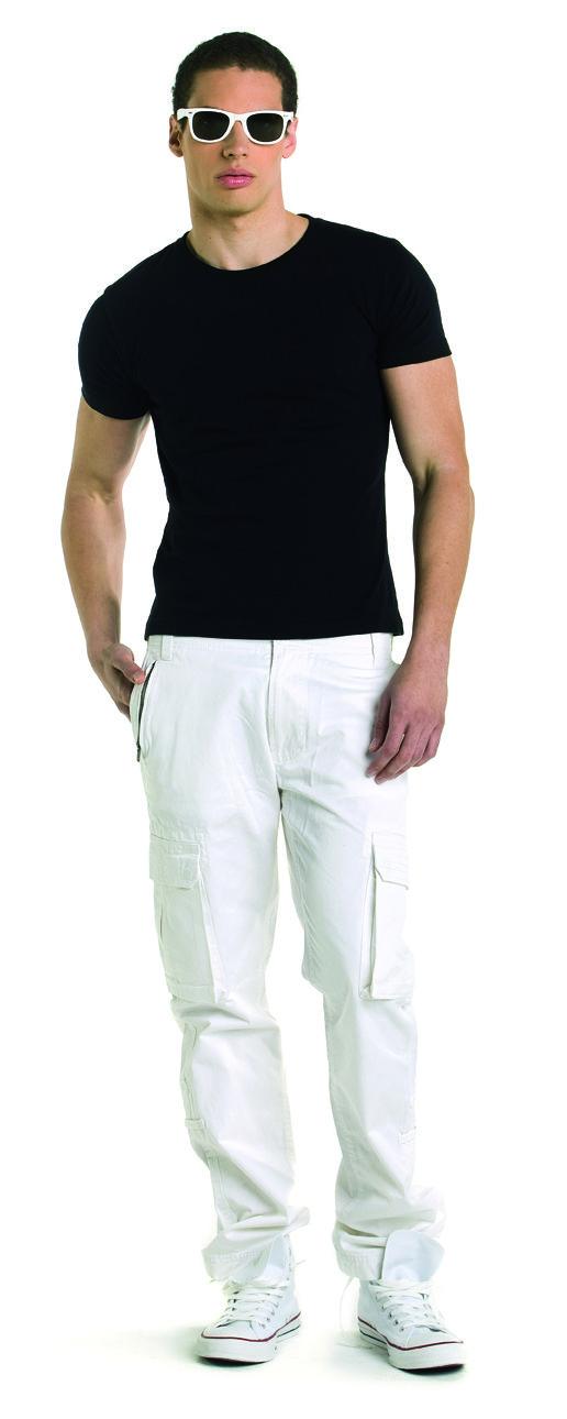 Camiseta de hombre manga corta ajustada 6420 DISCO