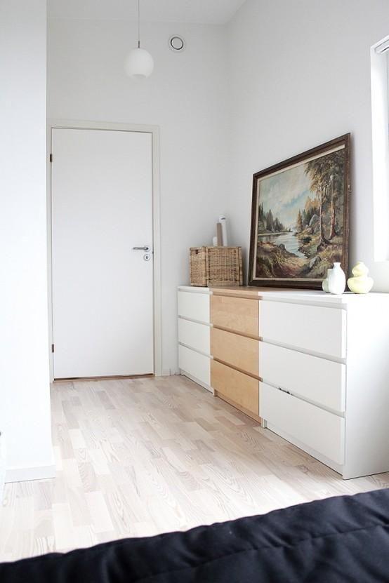 wie man ikea malm dresser in ihre dekoration integrieren 9 wohnideen in 2019 pinterest. Black Bedroom Furniture Sets. Home Design Ideas
