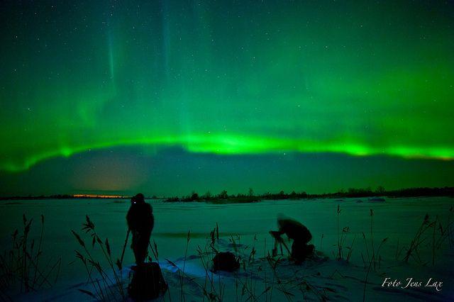 Aurora Borealis o 2 Knäppisar  / Jens by Fotoklubben Knäppisarna, via Flickr