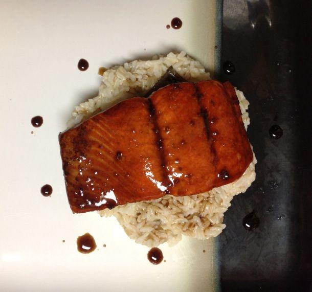 Maple Balsamic Salmon! Yummmm