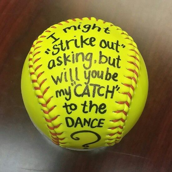 [Women's fashion]Hoco Proposals Ideas softball #hocoproposals