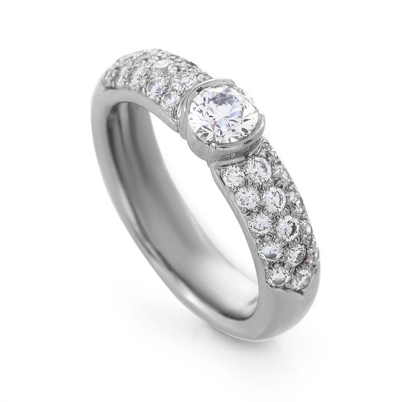 8d60a8e82 Estate Tiffany & Co. Etoile Platinum Diamond Engagement Ring- Special  Price: $5,900.00