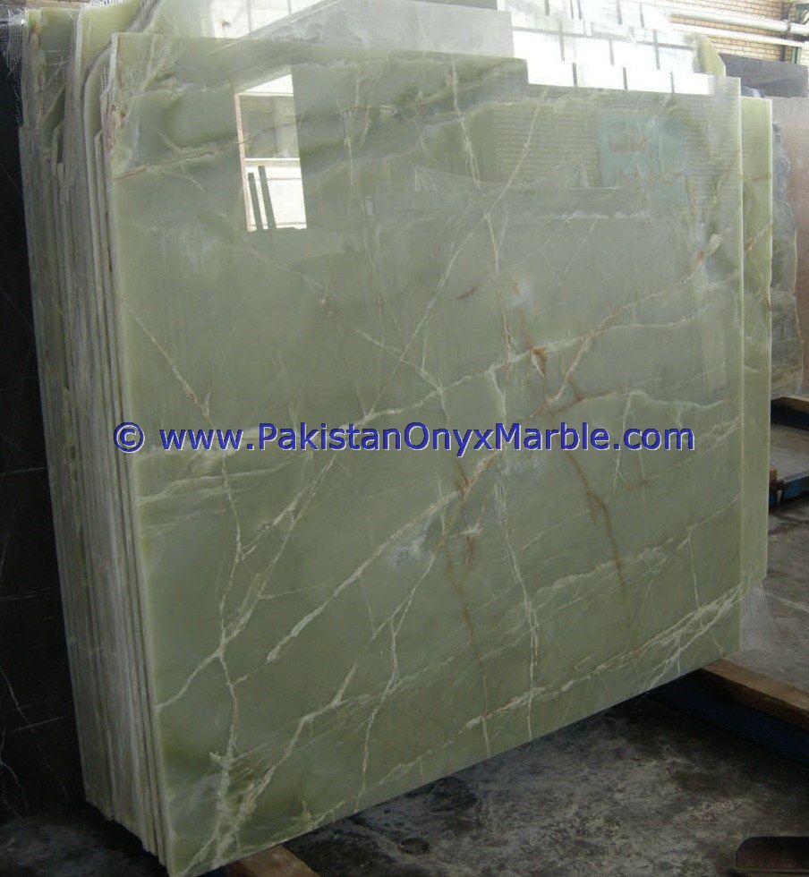 Afghan Jade Onyx Slabs Pure Green Onyx Afghanistan Emerald Green