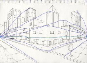Perspective Drawings Of Buildings 2 point perspective drawing ideas <b>2 pt perspective</b> resource