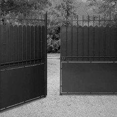Portail Battant Hauteclaire L 350cm Couleur A Peindre Portail En Fer Portail Portail Bois