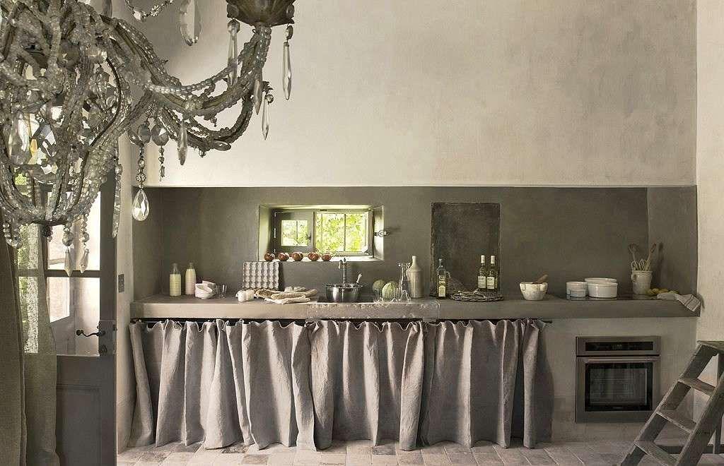 Cucina bianca rustica cucina nel 2019 maison france maison e mobilier de salon - Cucina rustica bianca ...