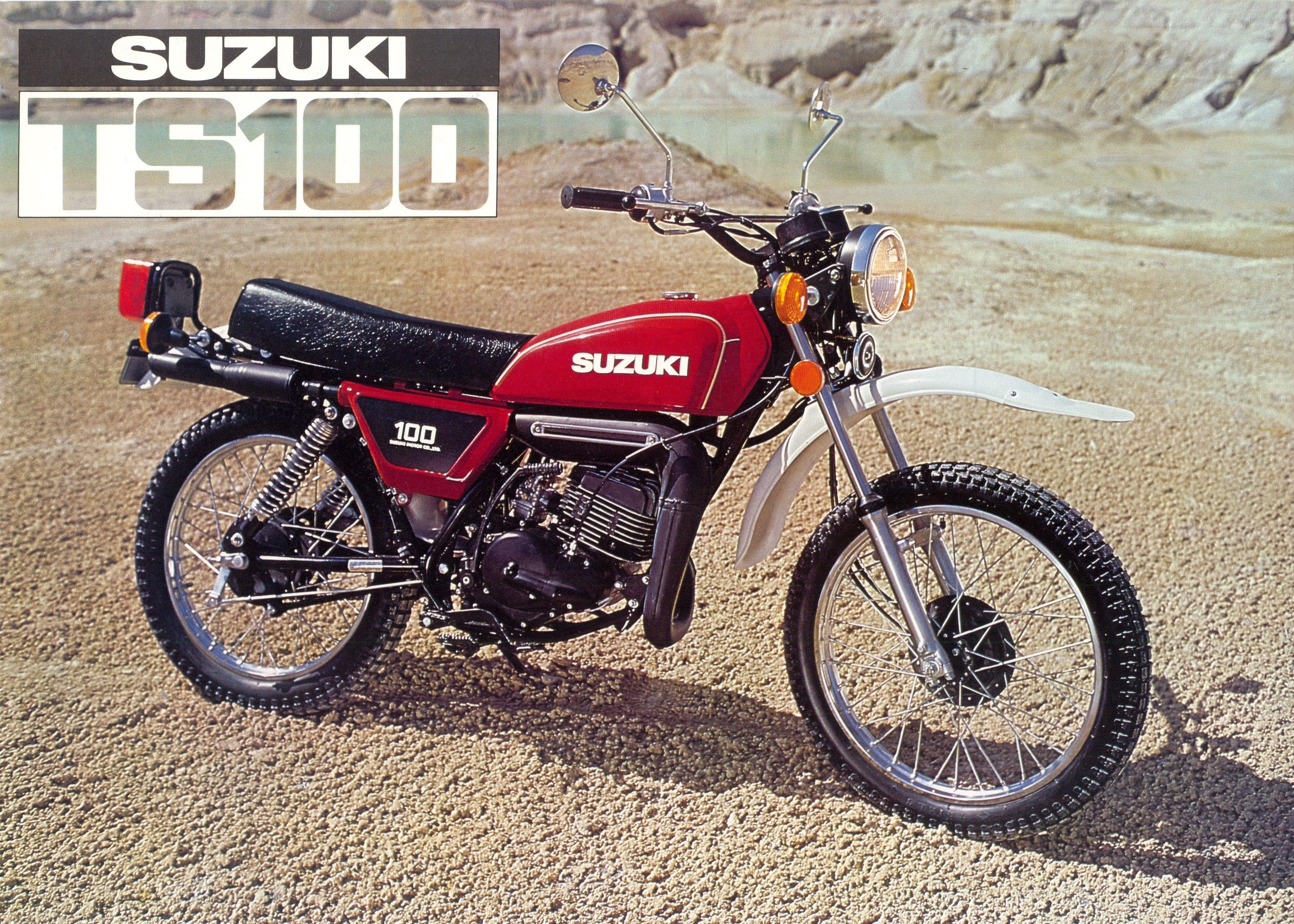 1978 Suzuki TS100C Suzuki, Suzuki motorcycle, Classic bikes
