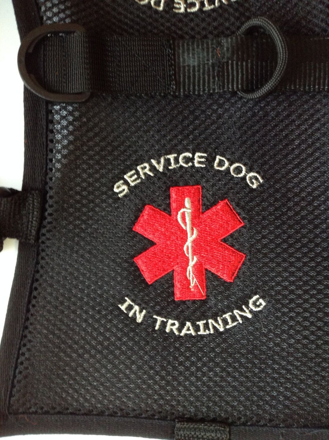Handmade Service Dog in Training Vest. Made from