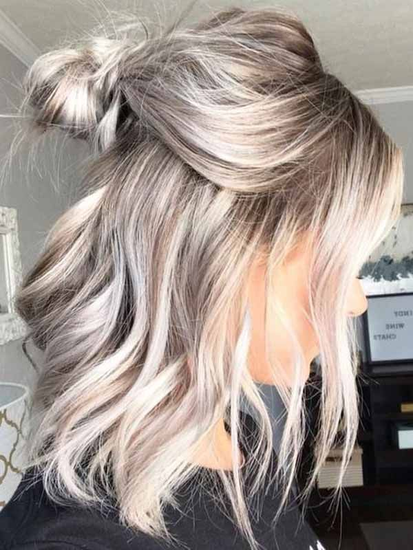 Medium Wavy Hairstyles for You With Edgy Bobs 2019  #edgybob