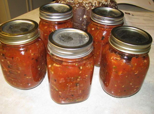 Yum... I'd Pinch That! | Barbies Homemade Fire Roasted Salsa