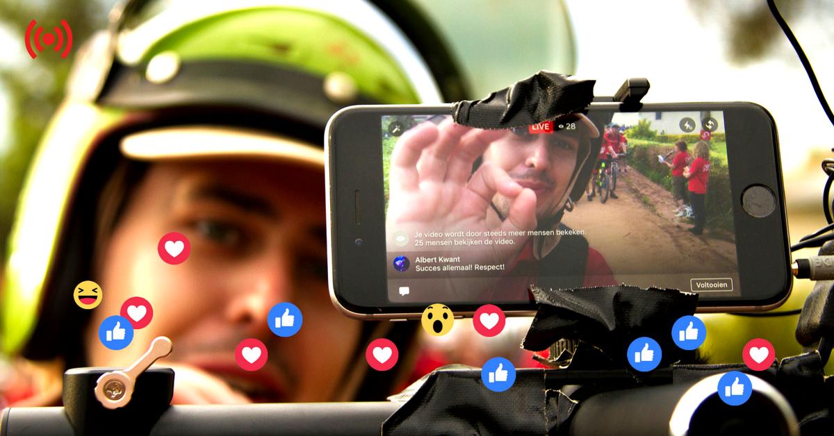 Dé methode waarmee kijkers vanaf je eerste live video hartjes en likes gaan sturen.
