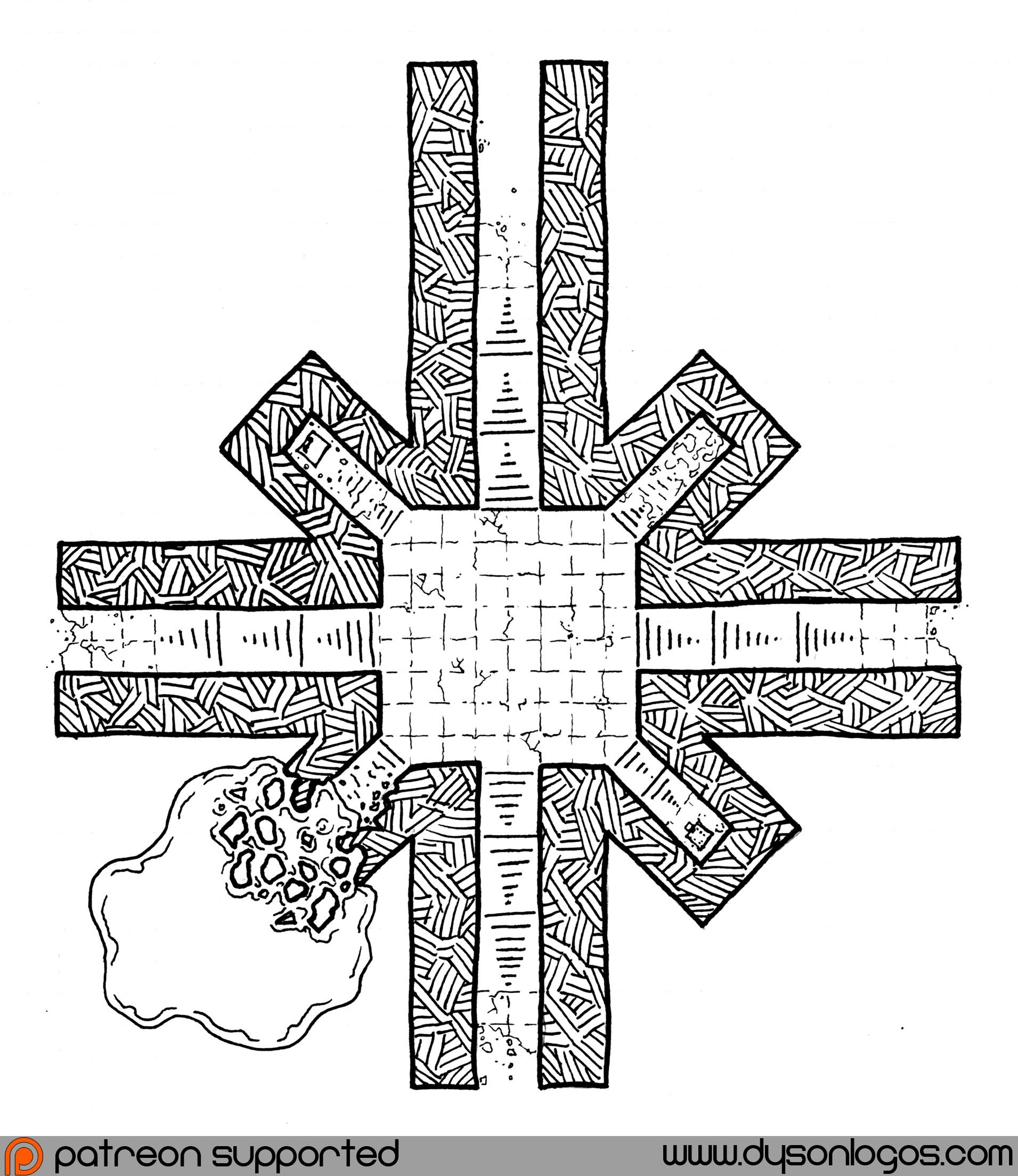 The octagonal temple symbols temple and fantasy map the eight pointed star has been the symbol of chaos for so long that biocorpaavc Image collections