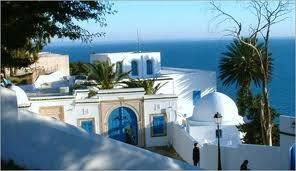 Sidi Bou Said, Tunisia - so bright and glorious is the contrast at times the light hurts your eyes - wonderful
