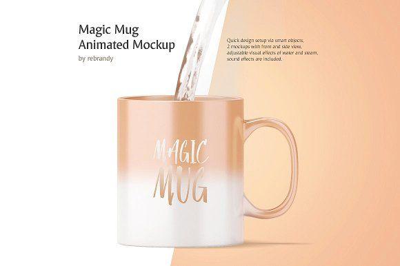 Optimized for quick and easy presentation for your cup designs. Magic Mug Animated Mockup Design Mockup Free Mockup Psd Mockup
