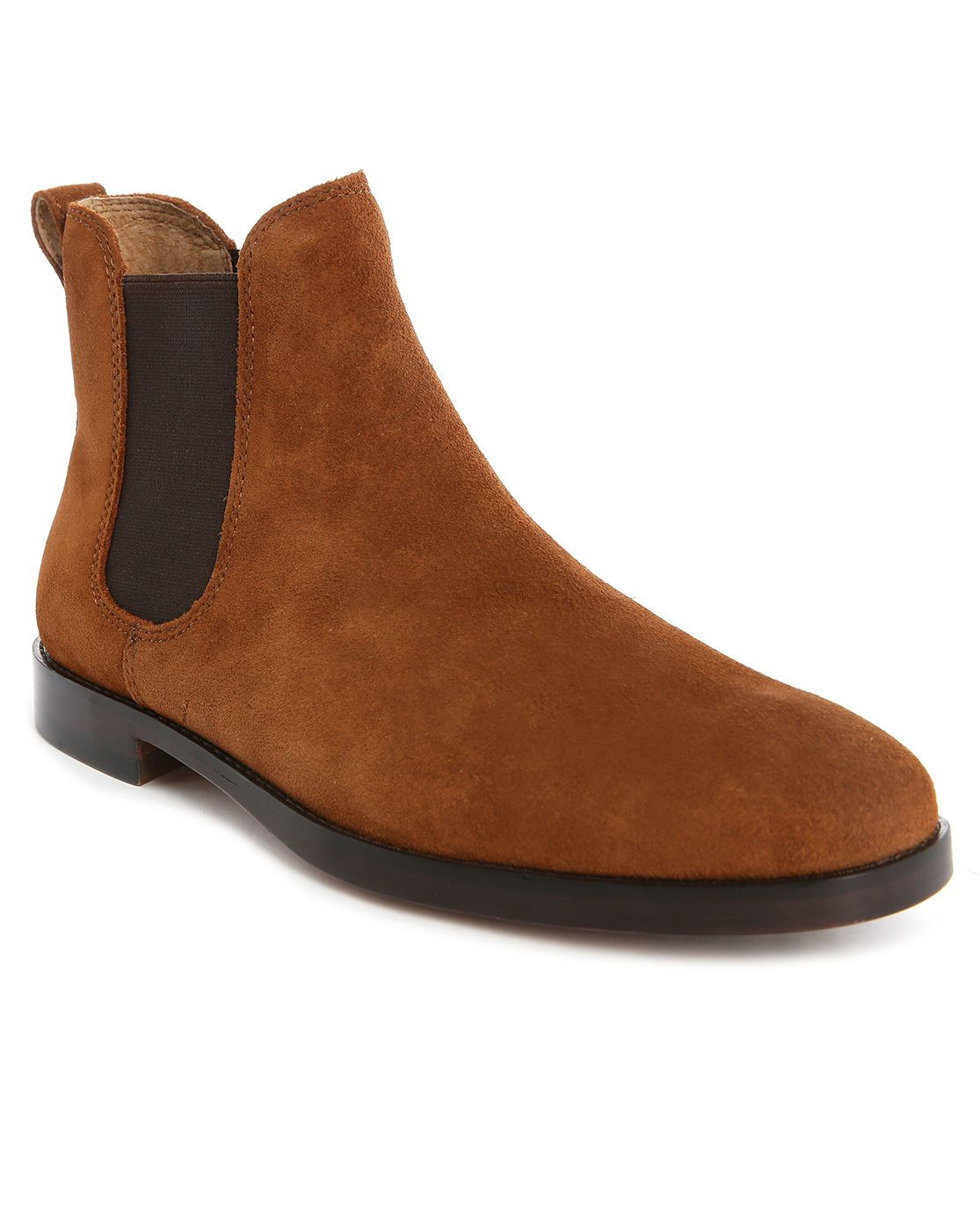 Polo Ralph Lauren | Brown Dillian Camel Suede Chelsea Boots for Men | Lyst