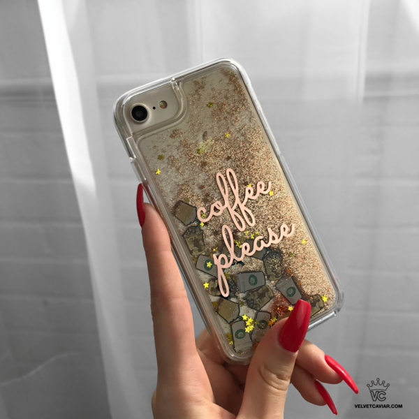 san francisco d741a 82832 Coffee Please Glitter iPhone Case in 2019 | #applegoals | Iphone 6 ...
