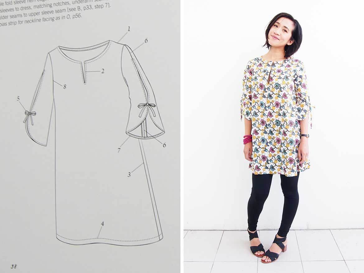 Tunic Dress: Is this the best Japanese sewing pattern maker ...
