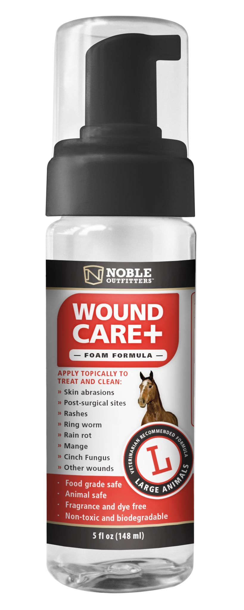 Noble Outfitters Wound Care Foam Formula Wound Care Fungi Recipe Biodegradable Products