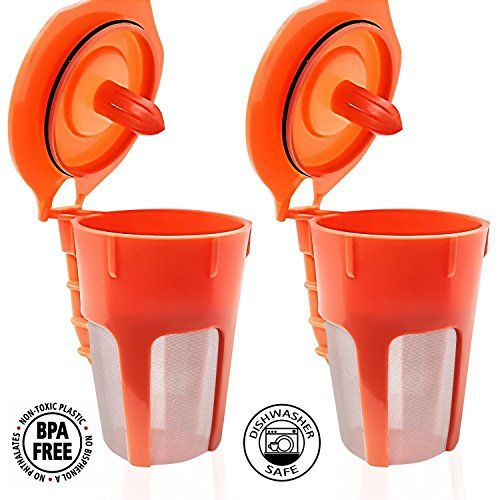 Fill N Save 2 Pack Reusable Carafe K-Cups. Reusable coffe...