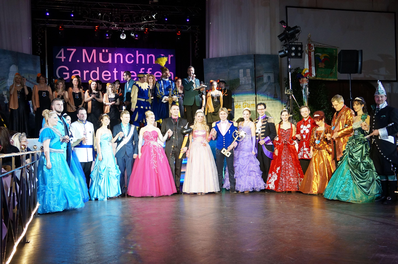 Die Faschingsprinzen-Paare 2014 aus München und Region