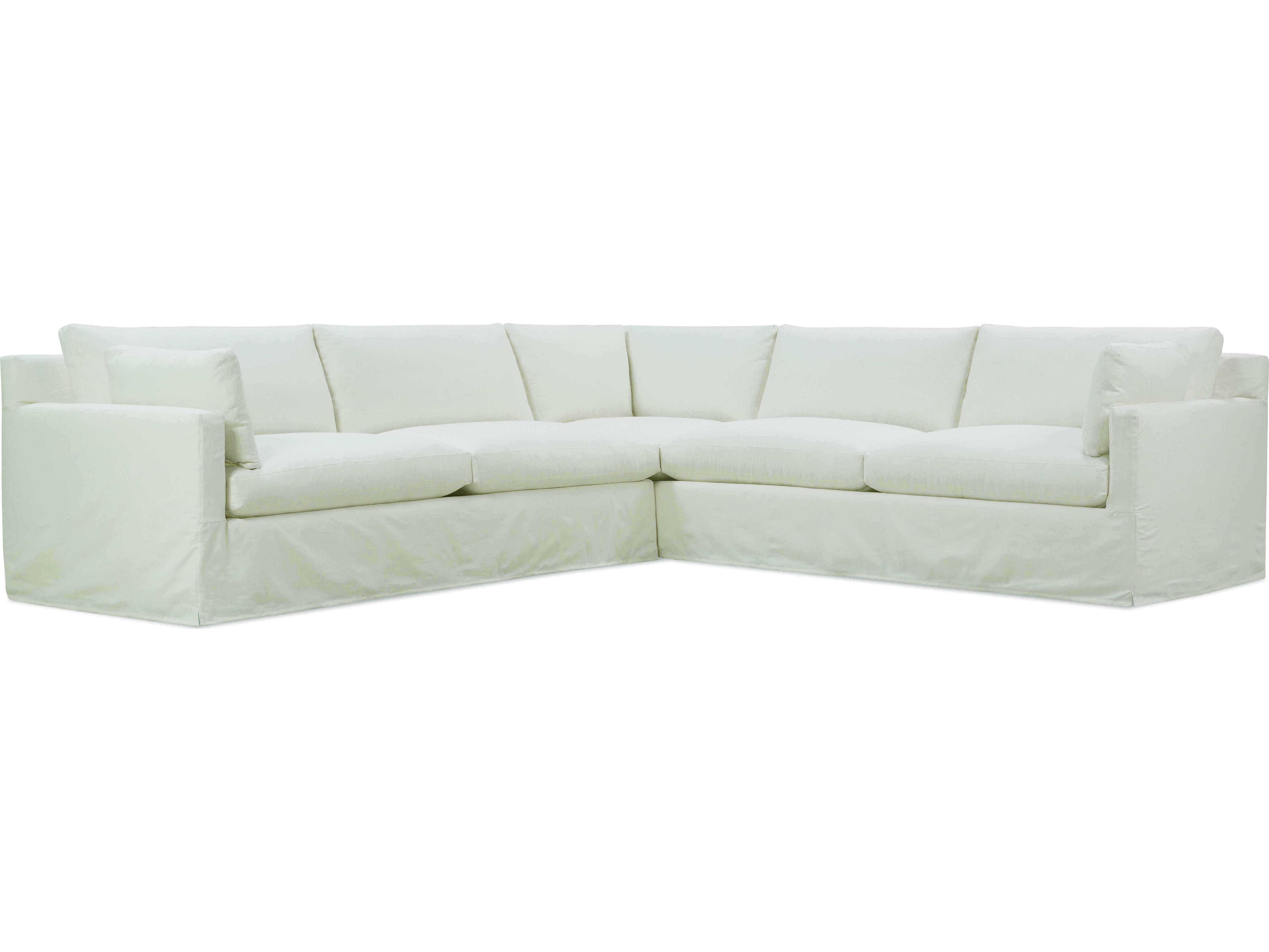 Rowe Furniture Sylvie Sectional Sofa With Slipcover Rowsylvieslipsect