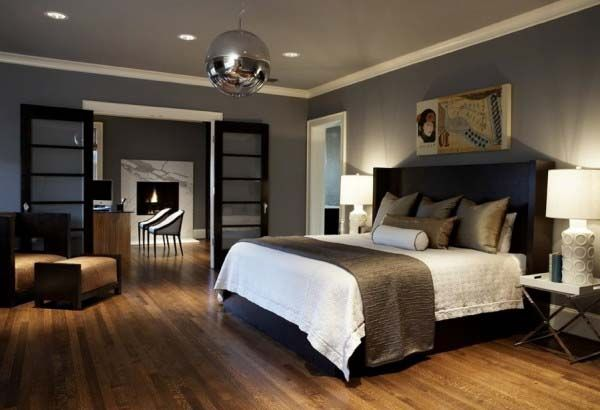Grey and blue bedrooms modern bedroom colors natural for Room colour selection