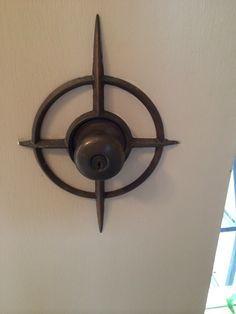 Mid century door knob