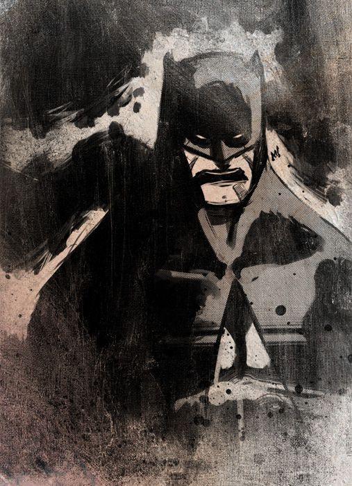 BATMAN NOIR  by *Zatransis