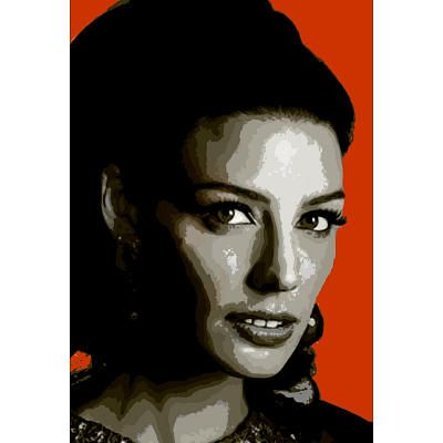 Zou Bissou Bissou Pop Art Television Poster $4.80 #madmen #jessicapare #megandraper #popart #retro