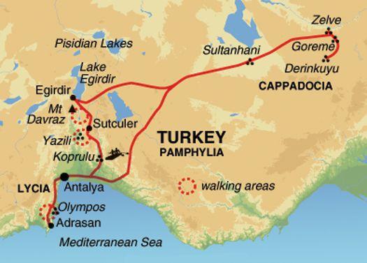 St Paul Trail Turkije