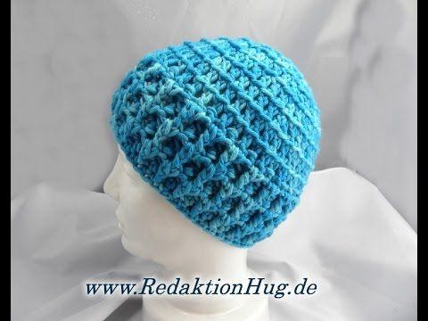 Häkeln Mütze Häkelmütze Hatnut Veronika Hug Youtube для