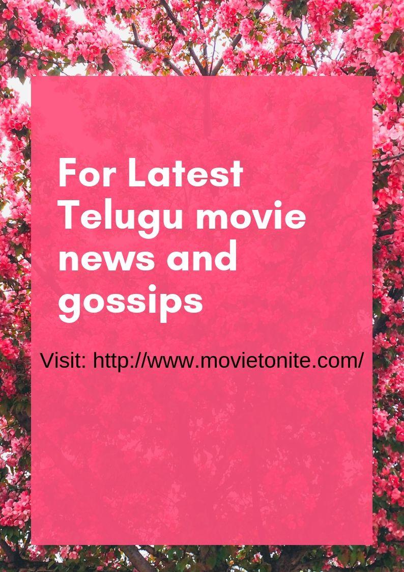 View the latest Telugu Movie News, Cinema Gossips, Actress