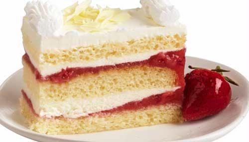 Triple Delight Strawberry Fields Cake | Deserts | Pinterest ...