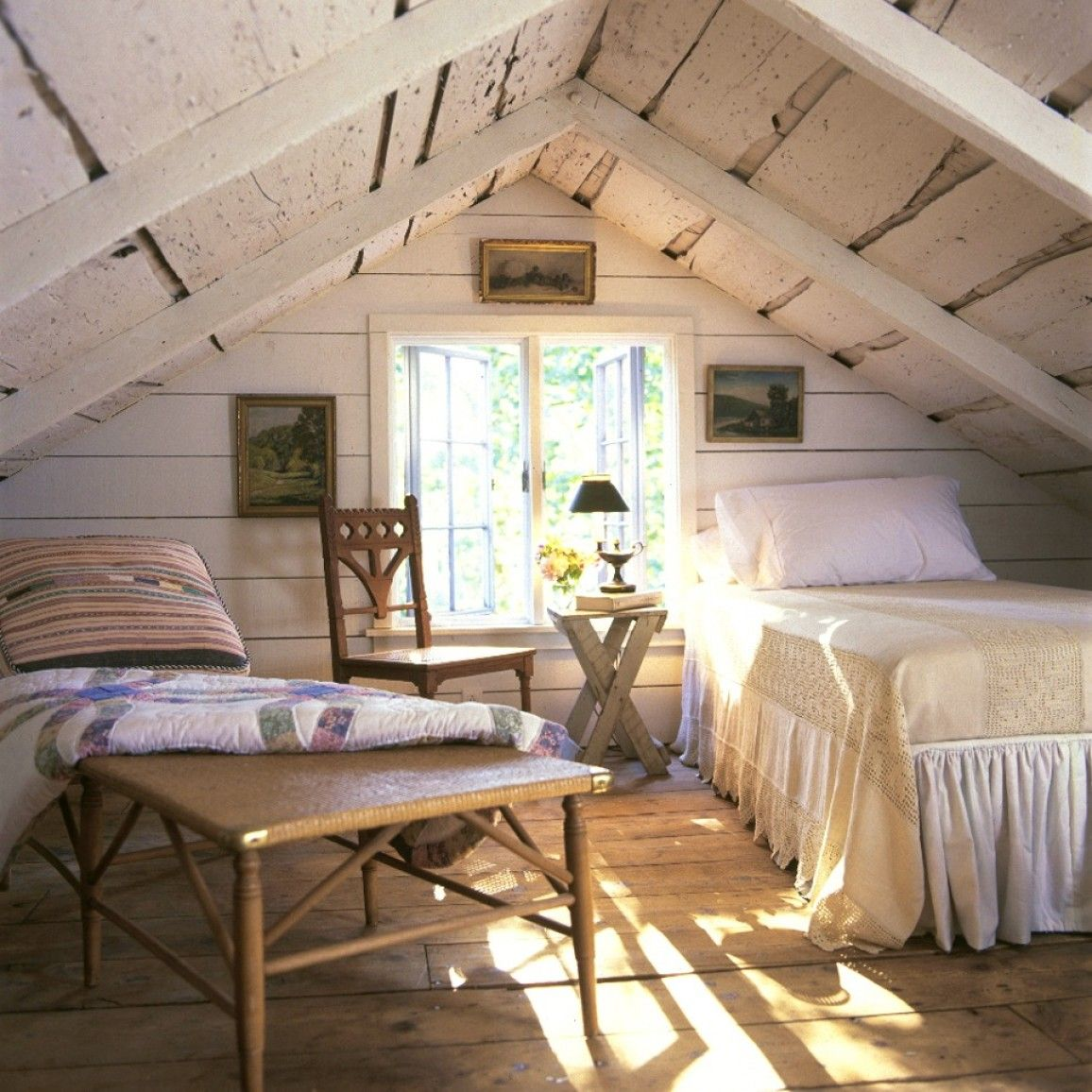 Adore This Rustic Loft Conversion With Exposed Rough