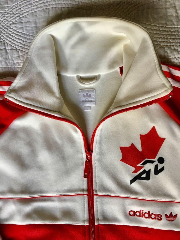 Adidas Originals Canada Track Jacket anthem Olympic CCCP