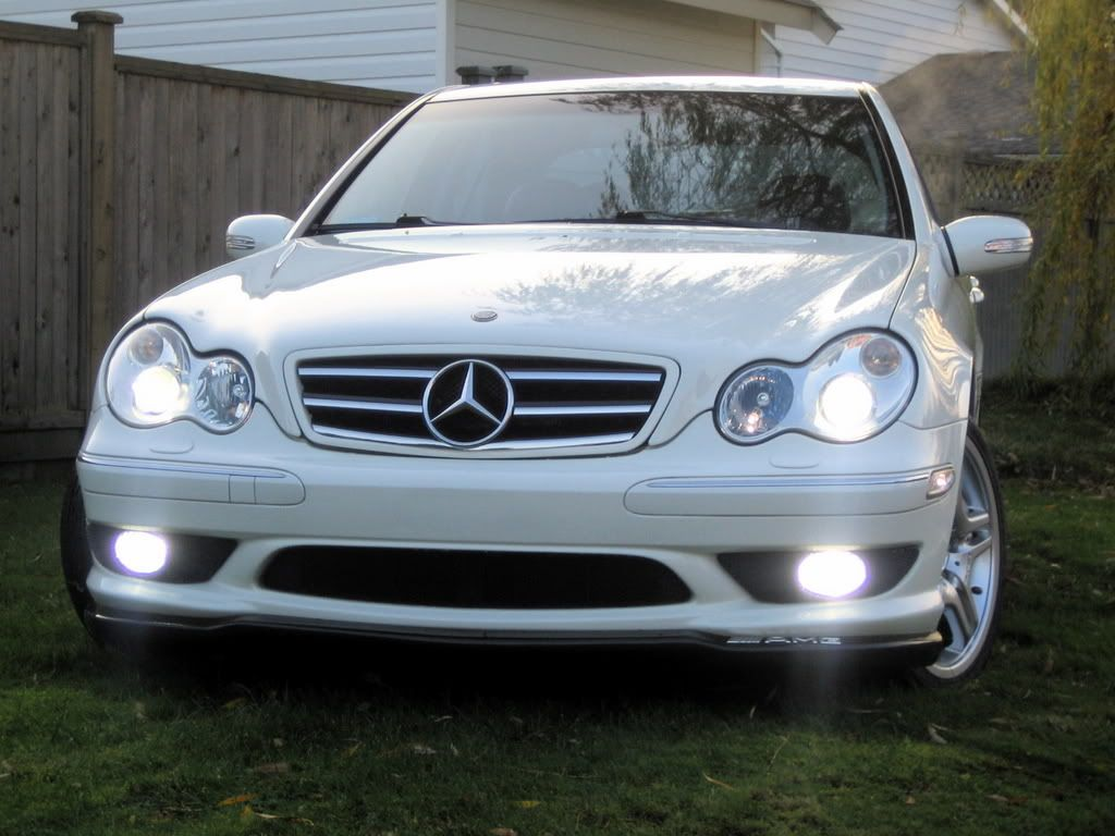 Looking for cl style grille for c230 mercedes c230