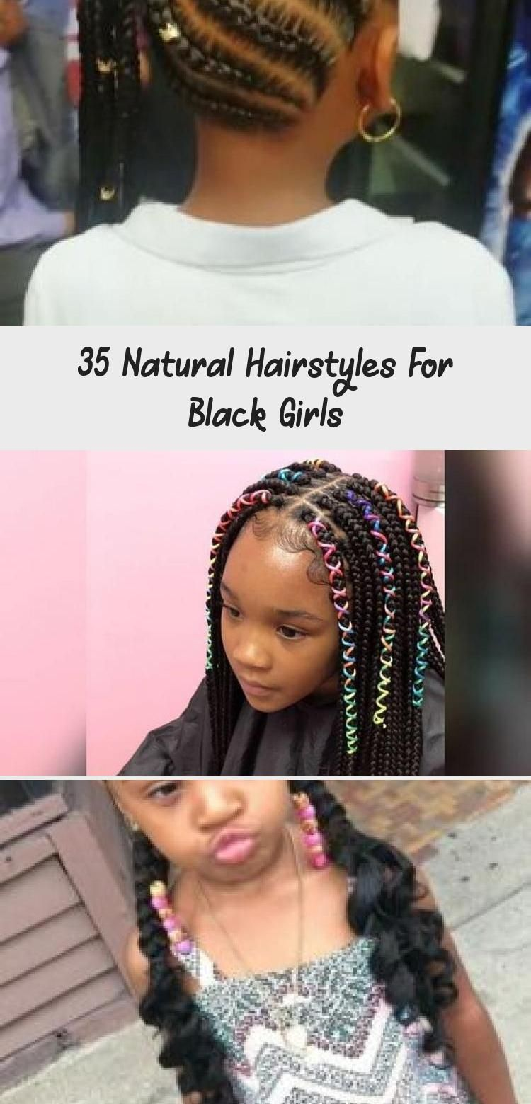 35 Natural Hairstyles For Black Girls - Deann's Blog | Natural hair styles, Kids  hairstyles, Hair styles